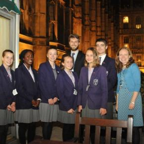Music students perform at Houses of Parliament