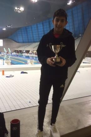 Swimming Success forNathan