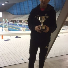 Swimming Success for Nathan