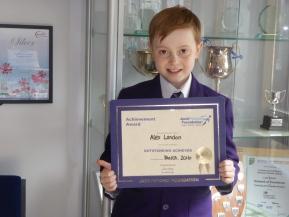 Jack Petchey Award Winner: March2016