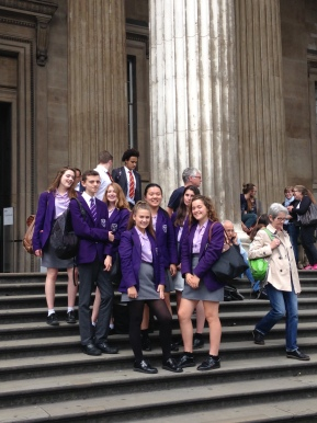 Year 10 Classics trip to the British Museum