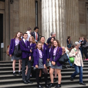 Year 10 Classics trip to the BritishMuseum