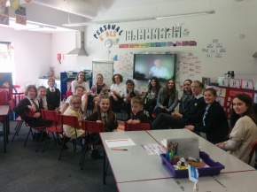 Teaching Languages at Burnt Oak Primary School