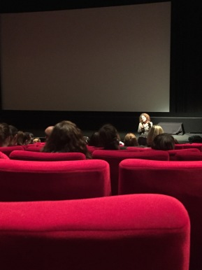 A Level German students visit the BFI
