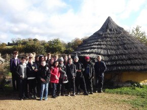 Yr 9 Latin students visit Butser Farm
