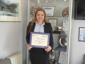 Jack Petchey Award- May winner