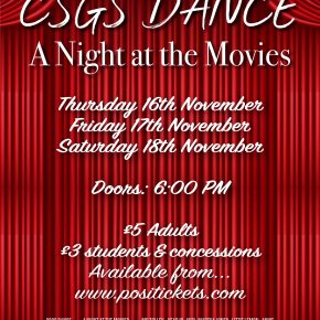 CSGS Dance Presents A Night At The Movies