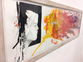 Year 11 Art students visit the Saatchi Gallery