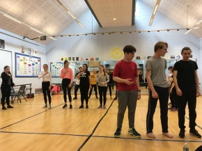A Frantic Drama workshop