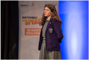 My Jack Petchey Speak Out Experience