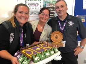 Bake Off at break time raising money for Macmillan CancerCare