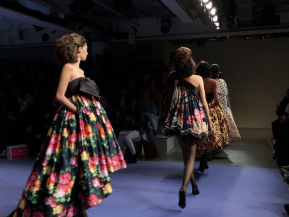 Art students from Chis and Sid invited to London Fashion Week by headlining designer Richard Quinn
