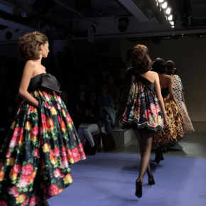 Art students from Chis and Sid invited to London Fashion Week by headlining designer RichardQuinn