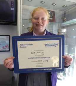Jack Petchey Winner June 2019
