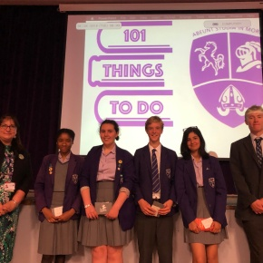 101 Things Competition Winners